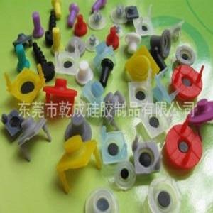 现模生产玩具导电胶按键 圆形带脚单点 单点按键