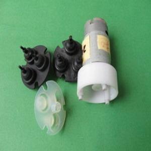 成功开模生产微型气泵用橡胶气鼓