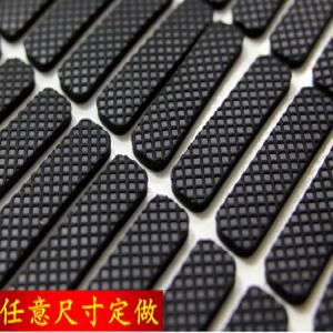 自粘带胶缓冲防震防滑硅橡胶脚垫片