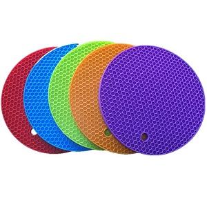 厂家直销新款硅胶防滑防烫垫